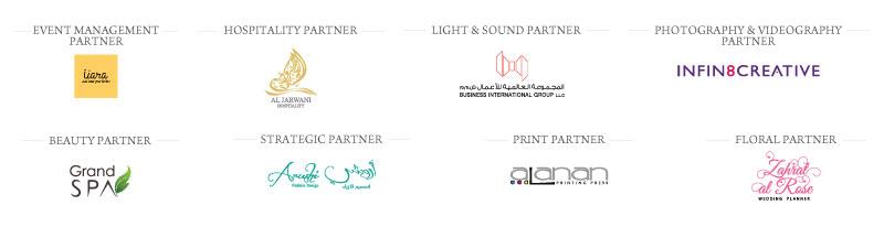 Blessing other partners - B&G Oman Wedding Industry Awards 2018 - Strategic Partner