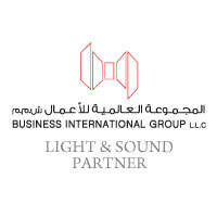 Business international group logo - B&G Oman Wedding Industry Awards 2018 - Light & Sound Partner