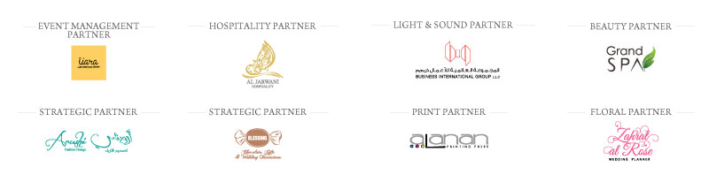 infin8creative other partner - B&G Oman Wedding Industry Awards 2018 - Photography & Videography Partner