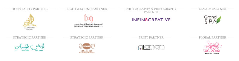 other partners - B&G Oman Wedding Industry Awards 2018 - Event Management Partner